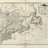 A general map of the northern British colonies in America. Which comprehends the province of Quebec, the government of Newfoundland, Nova-Scotia, New-England and New-York.