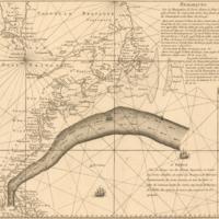 [Franklin–Folger map] Remarques sur la navigation de terre-neuve à New-York afin d'eviter les courrants et les bas-fonds au sud de Nantuckett et du Banc de George
