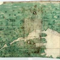 [Carta del curso del río de San Lorenzo desde su desembocadura hasta el lago de Golesme]